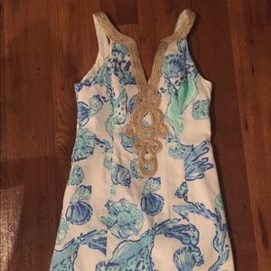 Lilly Pulitzer Emery Shift Barefoot Princess Dress